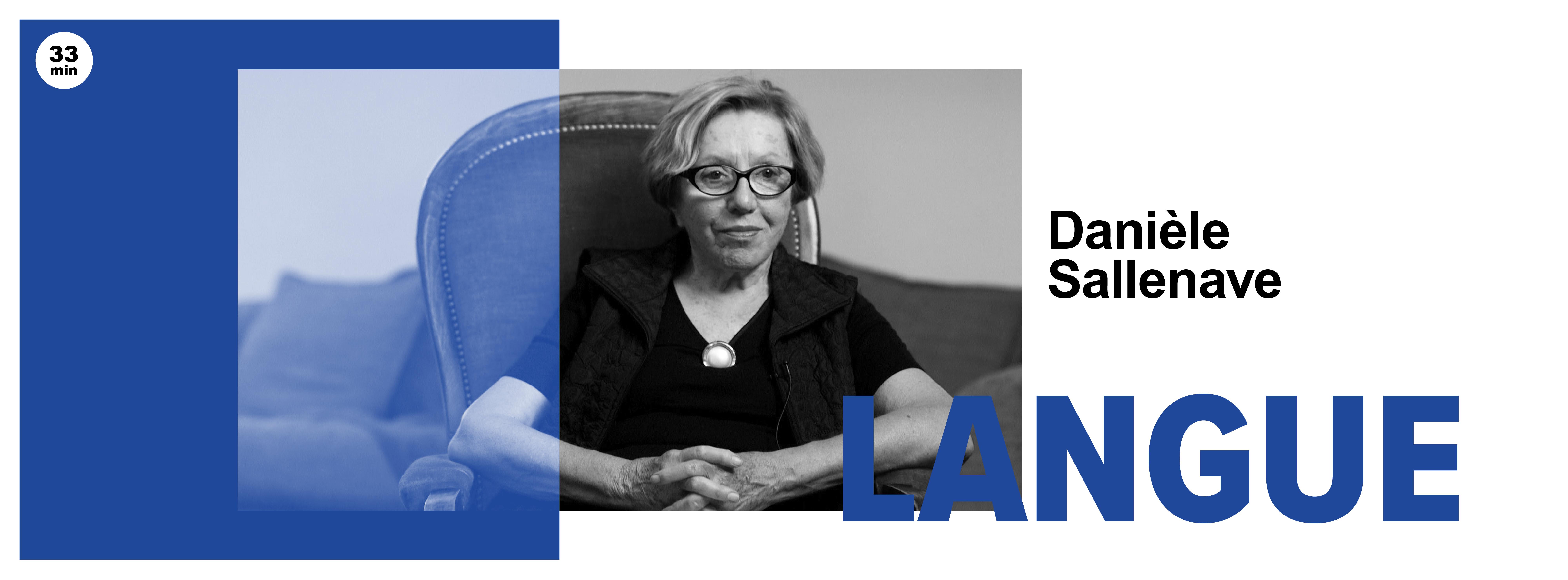 LANGUE Danièle Sallenave